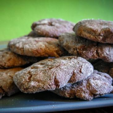 Čokoládové sušenky s ořechy