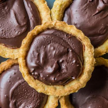 Snadné čokoládové tartelky