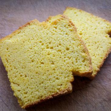 Domácí kukuřičný chleba