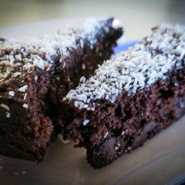 Řepný dort s čokoládou a bez lepku