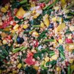 Bezlepková pohanka se zeleninovou směsí