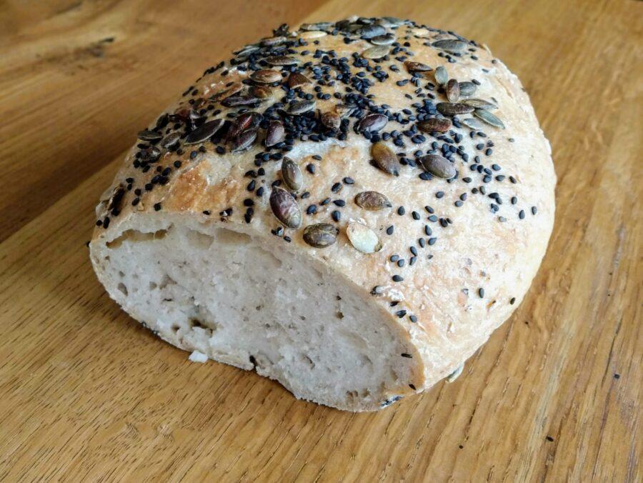 snadný bezlepkový chléb