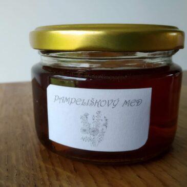 Jednoduchý pampeliškový med